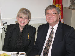 Fay Charpentier-Ford and Jerry Ford